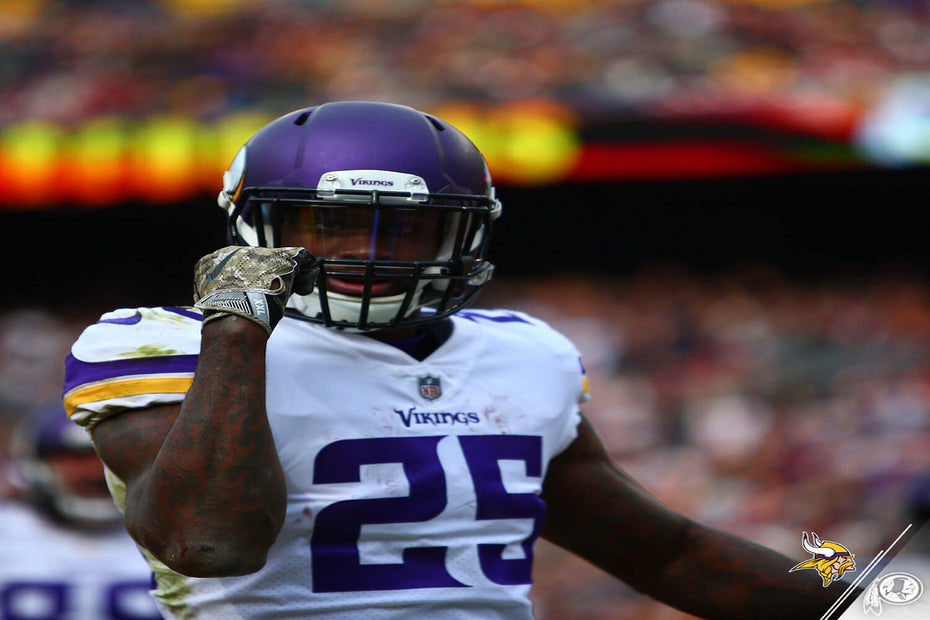 Vikings Notch 6th 100-Yard Rushing Game of 2017 at Washington | Latavius Murray