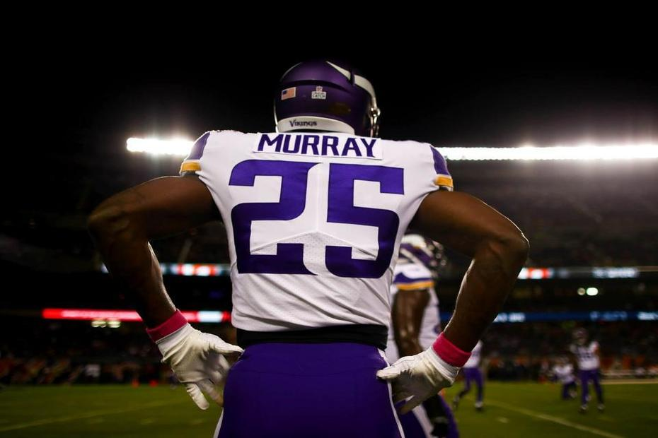 Murray 'not satisfied' with first start for Vikings | Latavius Murray