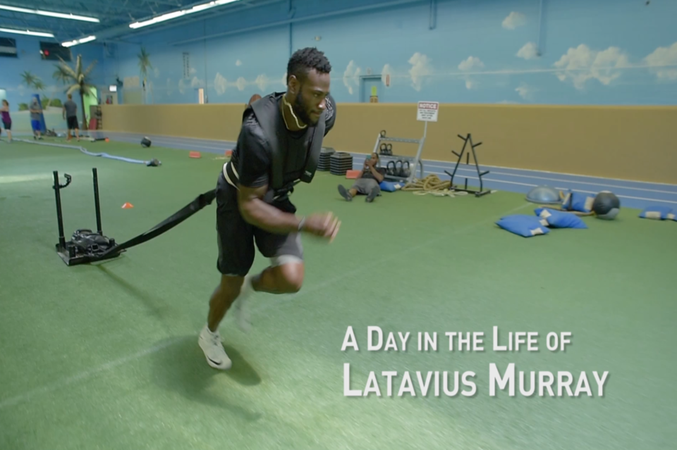 A Day In The Life of NFL Running Back Latavius Murray | Latavius Murray