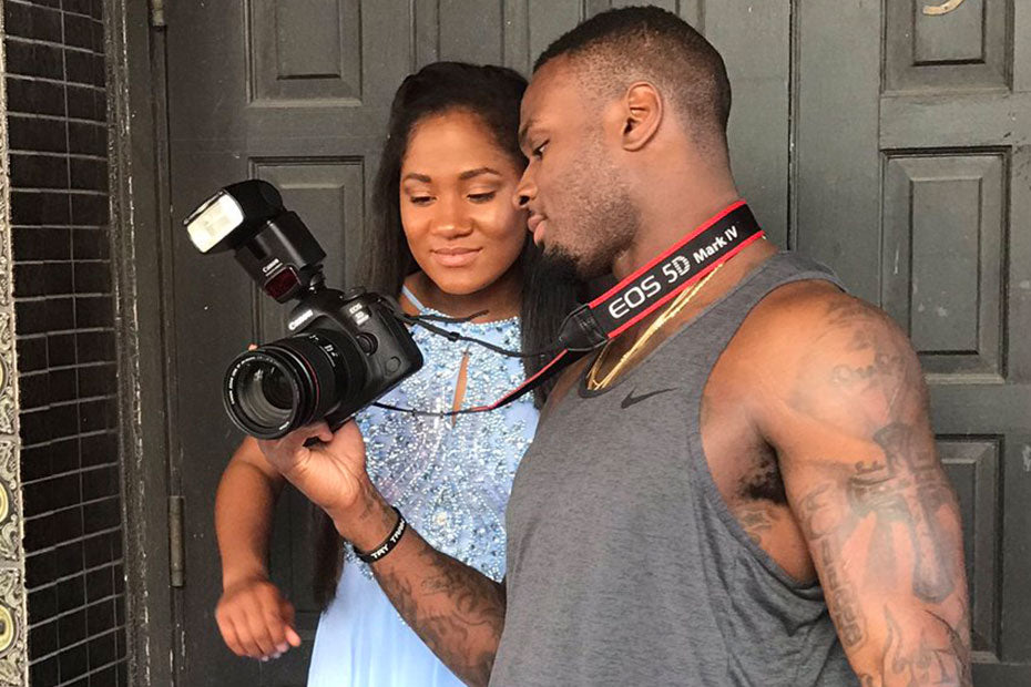 Vikings' Latavius Murray Finds Challenge, Reward In Photography | Latavius Murray