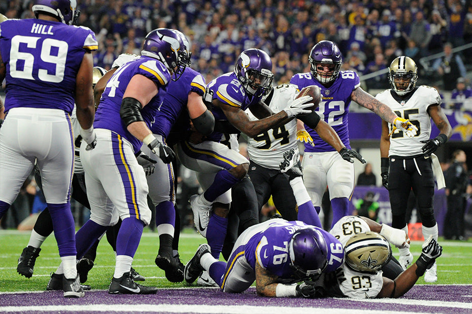 5 Takeaways from Sunday's Scintillating Win Over New Orleans | Latavius Murray