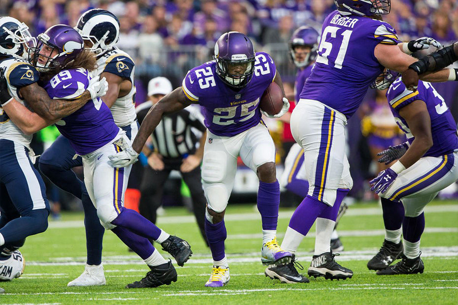 Vikings' Latavius Murray Has Taken A Starting Role And Run With It | Latavius Murray