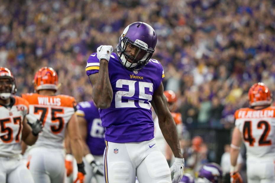 RB Latavius Murray describes Vikings' new OC as 'very positive'
