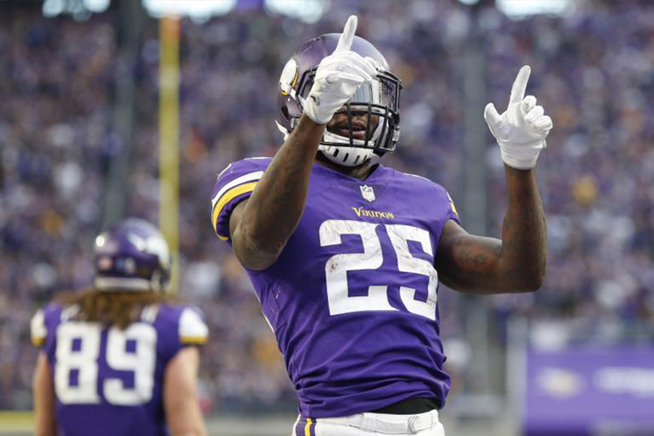 Vikings running back Latavius Murray makes his mark after slow start | Latavius Murray