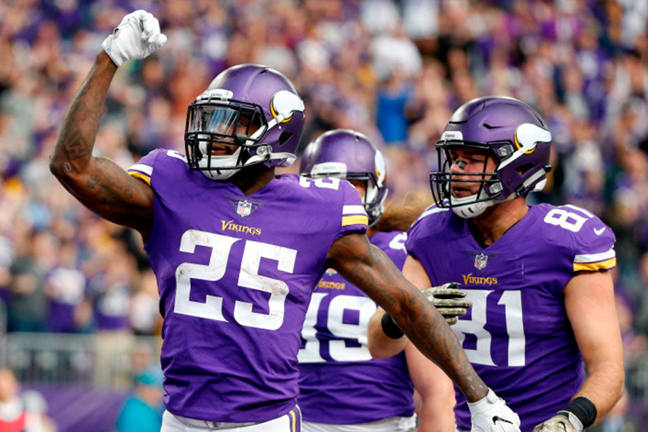 Vikings running back Latavius Murray has a nose for the end zone | Latavius Murray