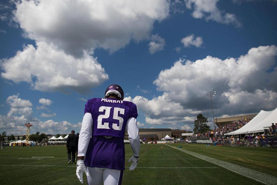 Latavius Murray 'Feels Good' in 1st Practice with Vikings | Latavius Murray