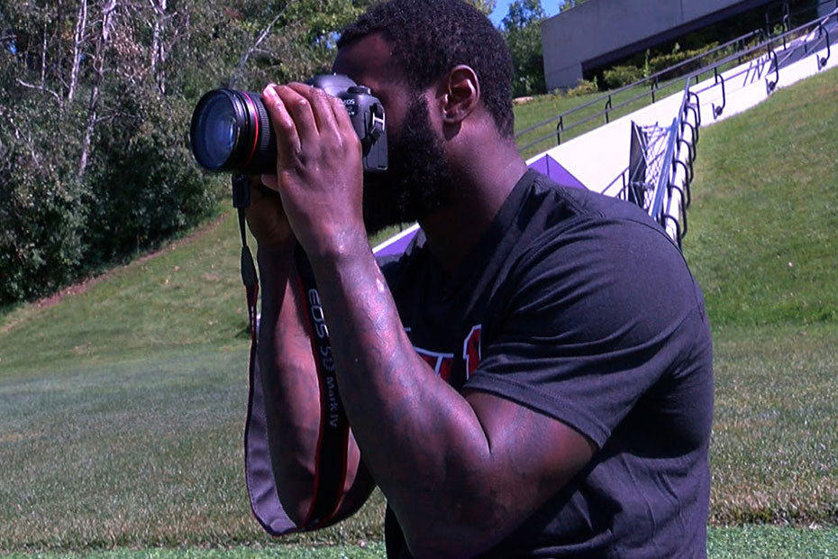 Latavius Murray: Photos Preserve Moments in Time | Latavius Murray