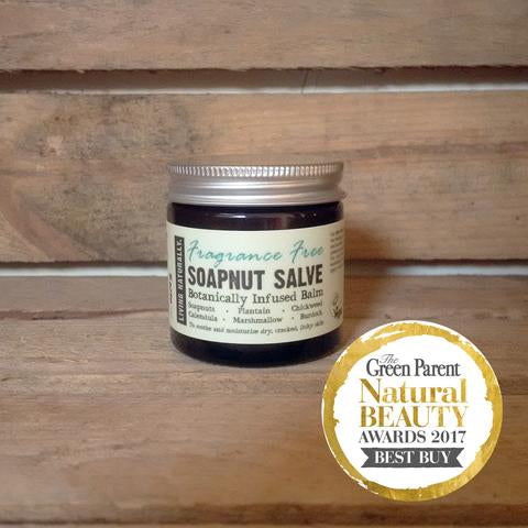 Fragrance Free Soapnut Salve 60ml