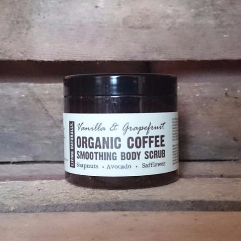 Organic Vanilla & Grapefruit Coffee Scrub