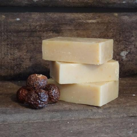 Bay laurel castile soapnut soap 90g