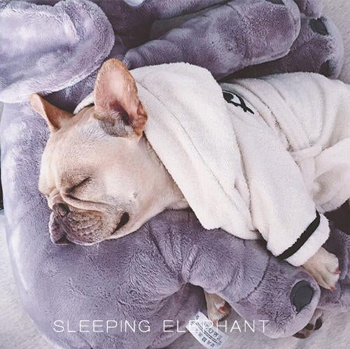 elephant frenchie bed