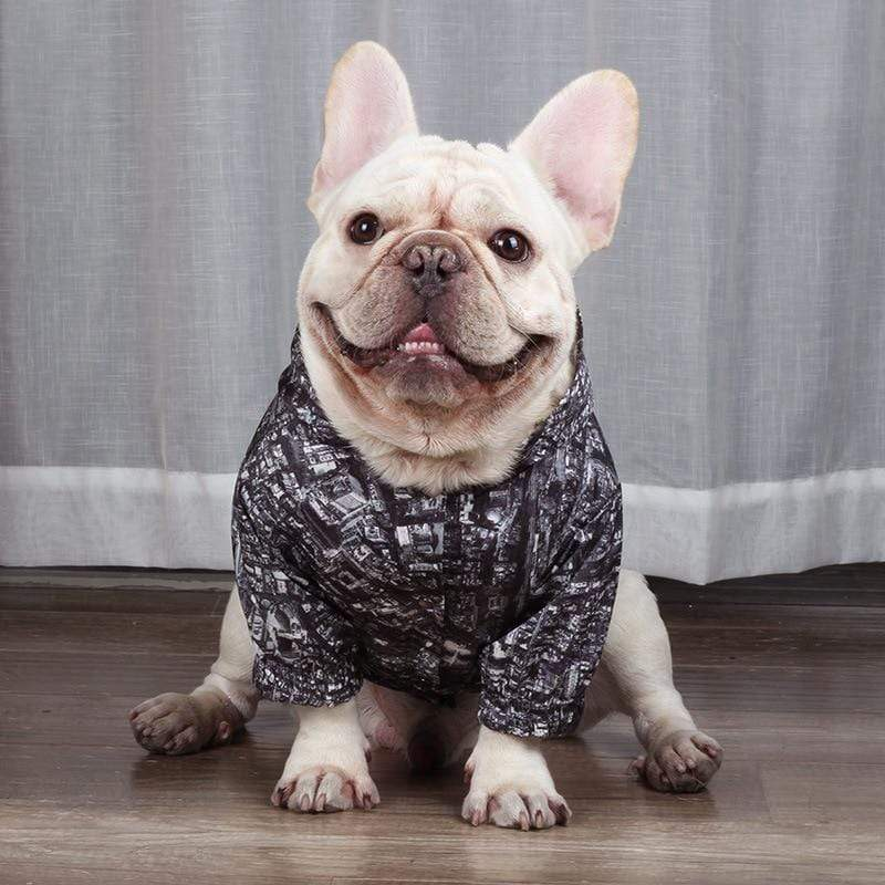 Frenchie World Shop 2019 Winter Dog Clothes Poodle Bichon Schnauzer Pug French Bulldog Corgi Dog Coat Jacket Pet Outfit Dropship Pug Costume Apparel