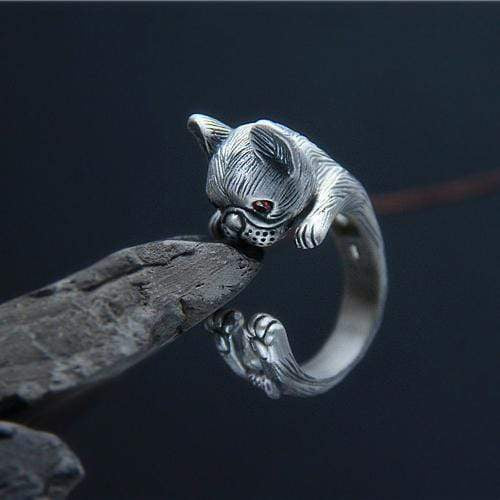 Frenchie World Shop Human accessories 990 Sterling Silver unisex ring