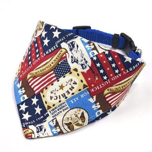 Frenchie World Shop A7 / L Adjustable French Bulldog Neckerchief Bandana