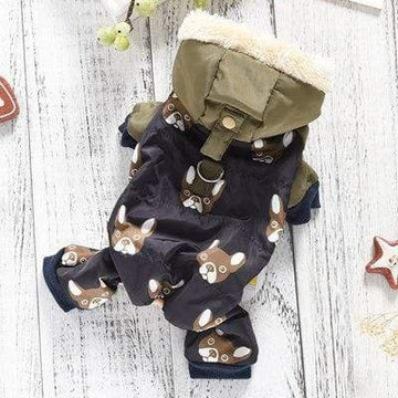 french bulldog jumpsuit