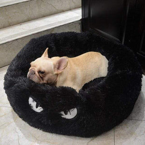 Frenchie World Shop Black / 60x26cm Autumn and winter thick pv velvet round pet nest deep sleep cat litter kennel pet supplies Creative Pet Nest Cama Gato