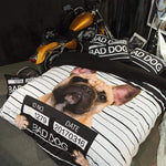Frenchie World Shop Bad Dog Bedding Set