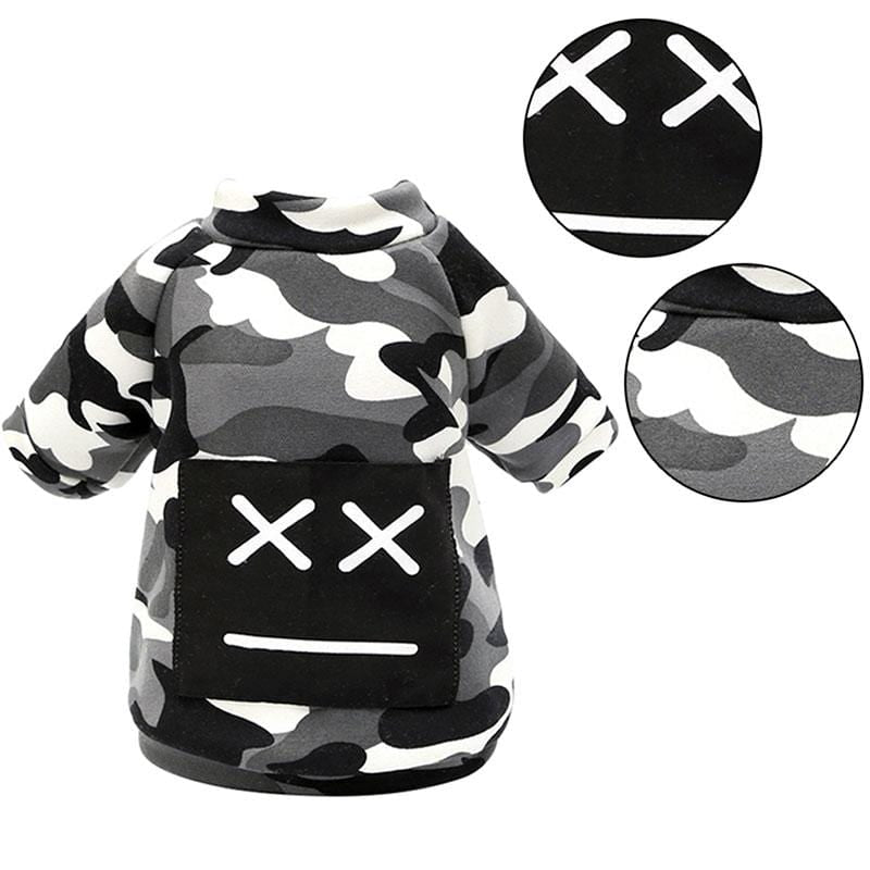 Frenchie World Shop Camo Winter Down Jacket