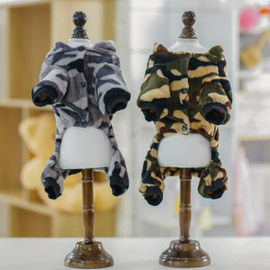 Frenchie World Shop Camouflage Fleece Frenchie Hoodie