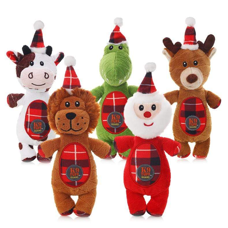 Frenchie World Shop Christmas Squeaky Toys
