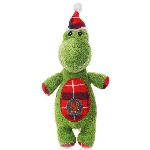 Frenchie World Shop Christmas -crocodile / S Christmas Squeaky Toys