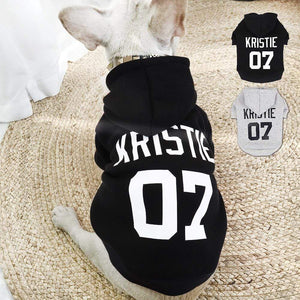Frenchie World Shop Black / XL Custom French Bulldog Hoodie