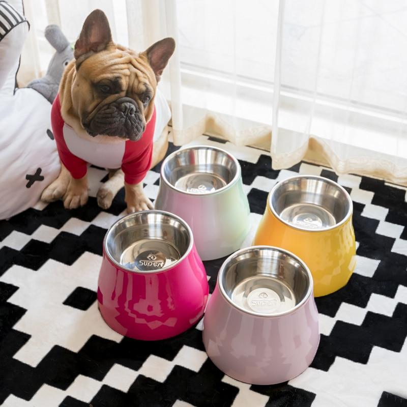Frenchie World Shop Designer French Bulldog High Foot Bowl