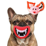 Frenchie World Shop Dog Funny Mouth Piece
