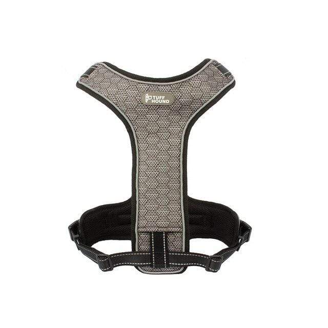 Frenchie World Shop black and gray / M(54-75) cm Dual Professional Air Mesh French Bulldog Harness