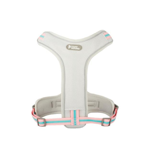 Frenchie World Shop Pink and white / S(42-54) cm Dual Professional Air Mesh French Bulldog Harness