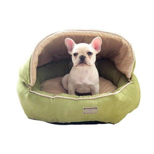 Frenchie World Shop Dual Suede French Bulldog Nest
