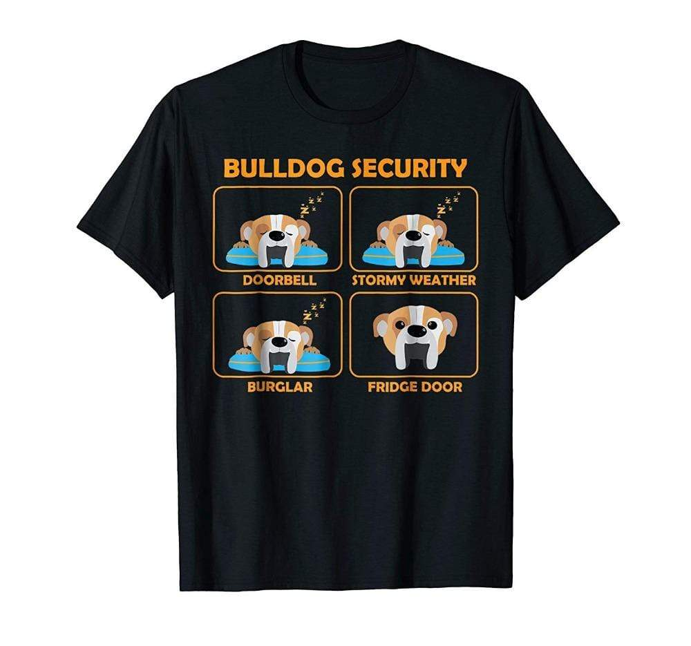 Frenchie World Shop English Bulldog Security T-Shirt