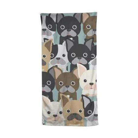 Frenchie World Shop Exclusive French Bulldog blanket