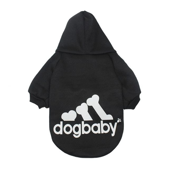 Frenchie World Shop Black / L Fashion Dog Clothes For Small Dogs Cats Puppy Hoodies Warm Pet Clothing for Dog Coat Jacket Yorkies Chihuahua Clothes 12d30