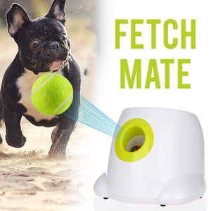 Frenchie World Shop FetchMate© - Automatic Tennis Ball Launcher