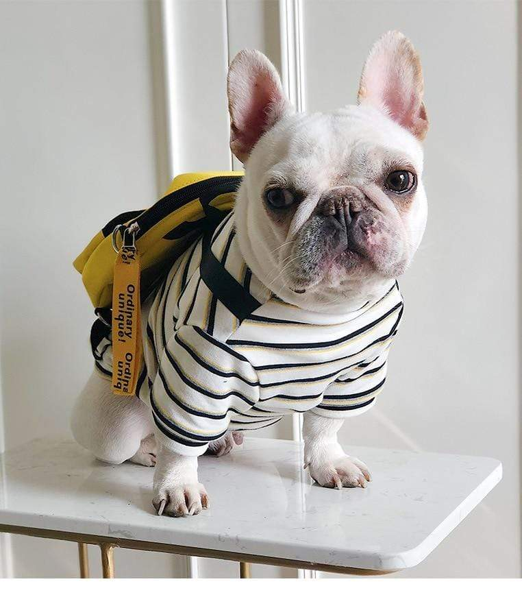 Frenchie World Shop French Bulldog Backpack Shirt