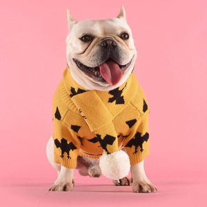 Frenchie World Shop French Bulldog Batpig Sweater