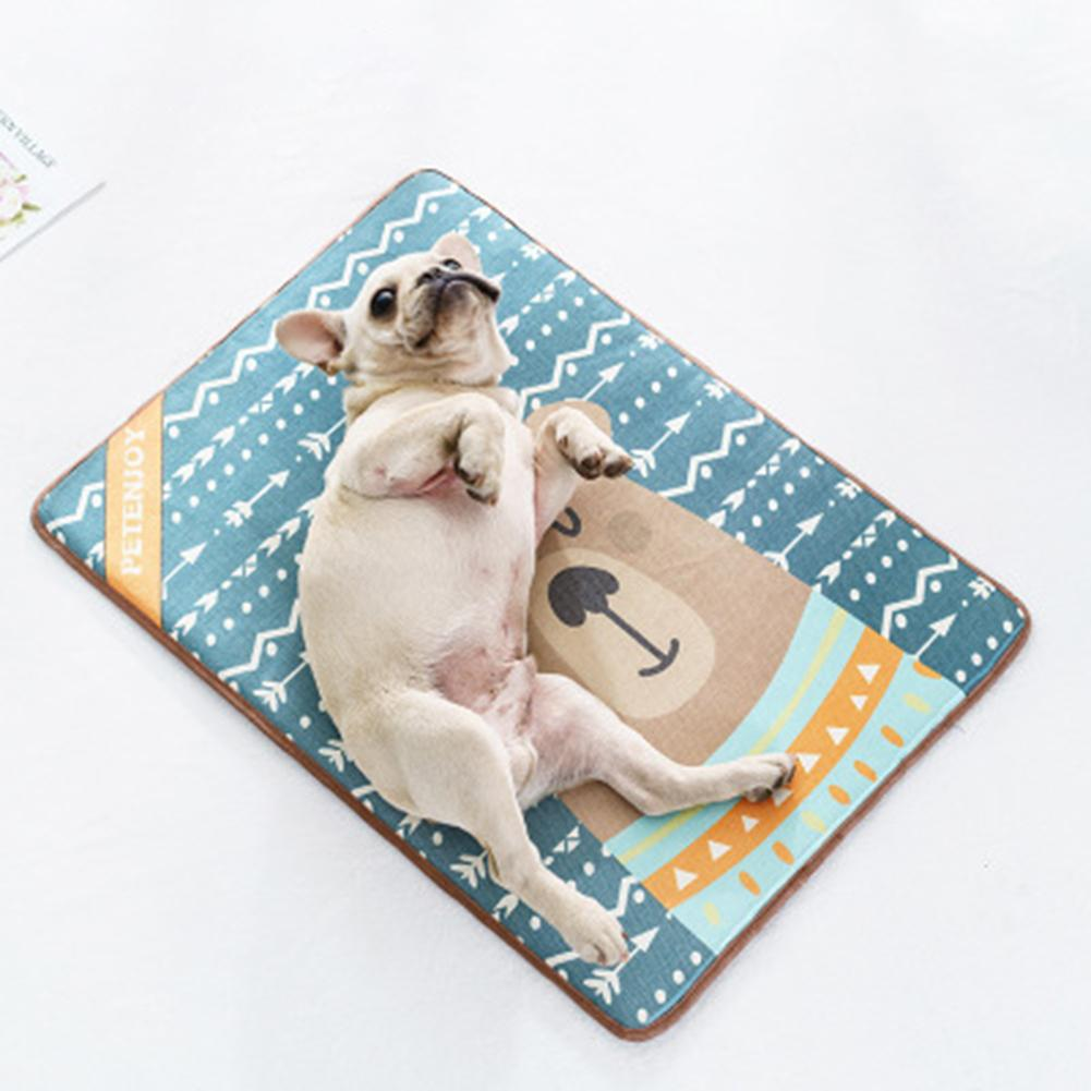 Frenchie World Shop French Bulldog Bear Summer Cooling Mat