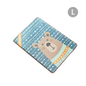 Frenchie World Shop Blue / S French Bulldog Bear Summer Cooling Mat