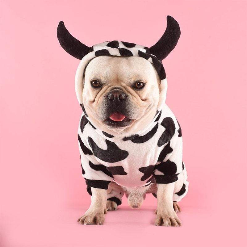 Frenchie World Shop French Bulldog Cow Jumpsuit