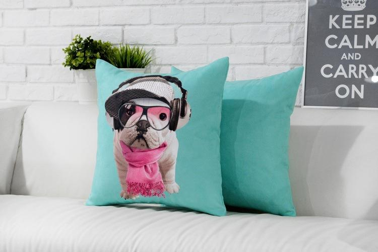 Frenchie World Shop French Bulldog Decorative Pillows