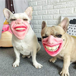 Frenchie World Shop French Bulldog Funny Mouth Mask