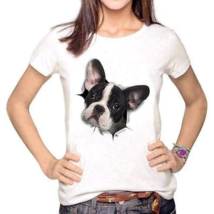 Frenchie World Shop PFW0698 / S French Bulldog In Me Women T-Shirt