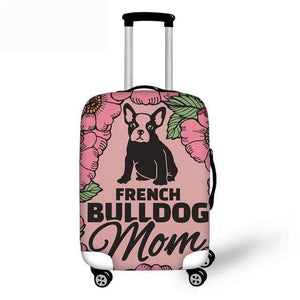 Frenchie World Shop YQ639 / S French Bulldog Luggage Protective Cover