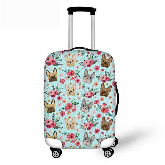 Frenchie World Shop YQ829 / S French Bulldog Luggage Protective Cover