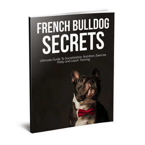 Frenchie World Shop book French Bulldog Secrets Hardcover Book