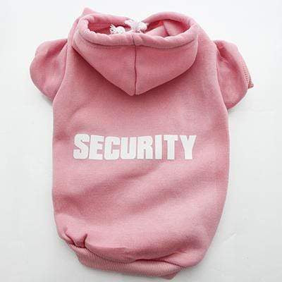 Frenchie World Shop Pink / XS French Bulldog Security Hoodie