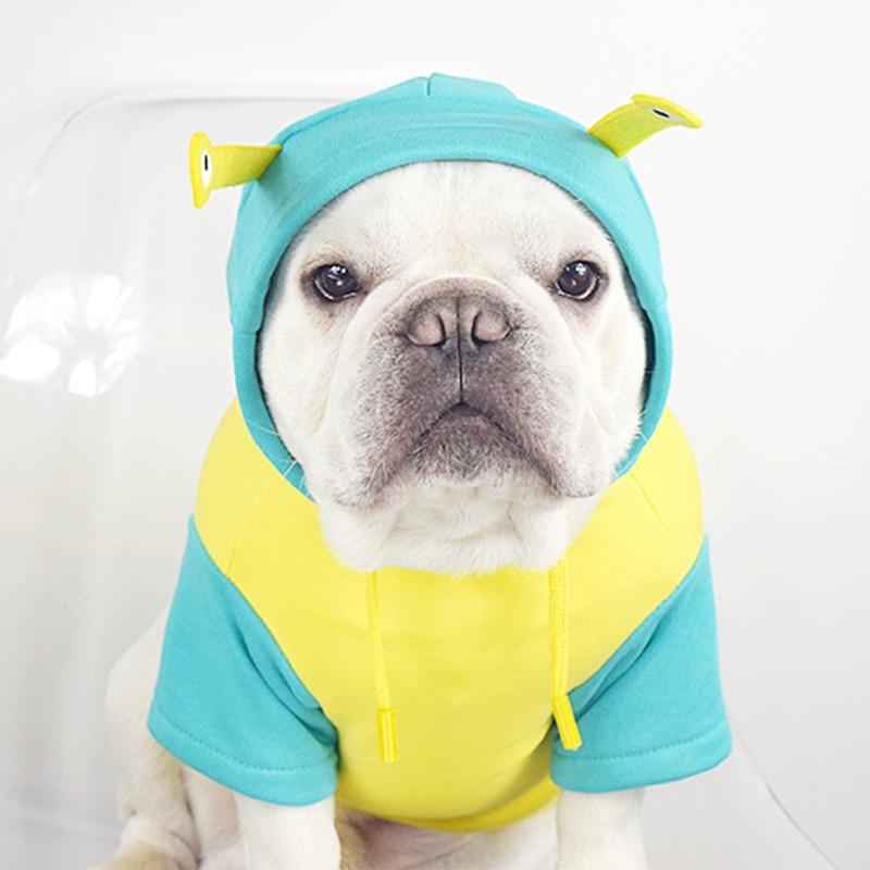 Frenchie World Shop French Bulldog Snail Hoodie