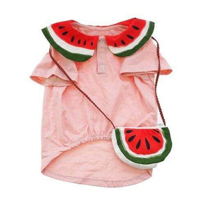 Frenchie World Shop Bag and Vest / XS French Bulldog Watermelon T-shirt & Bag