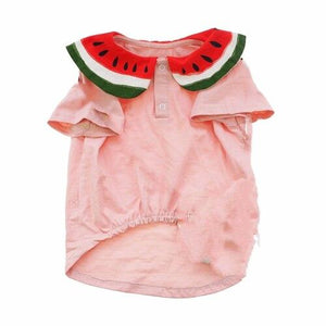 Frenchie World Shop T-shirt / XS French Bulldog Watermelon T-shirt & Bag